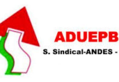 Assembleia Geral da ADUEPB – 07/12/2016 (Quarta-feira)