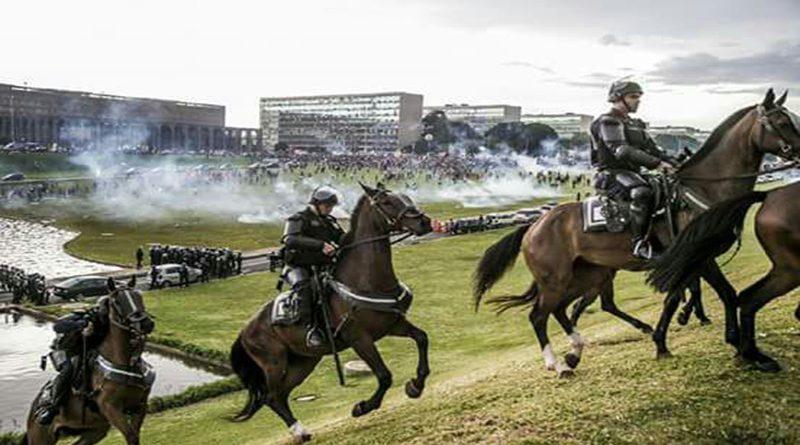 Relatos mostram terror e angustia dos participantes do #OCUPABRASÍLIA