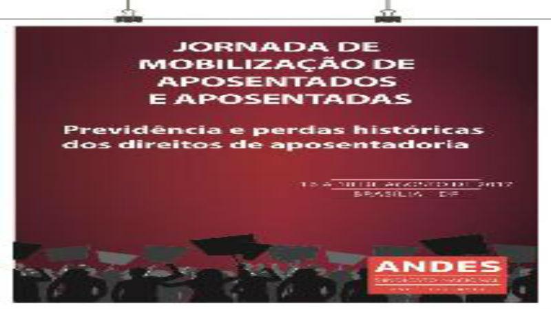 Jornada de Mobilização de Aposentados e Aposentadas acontece em agosto