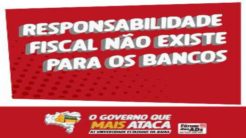 Cresce mobilização por orçamento nas Universidades Estaduais da Bahia