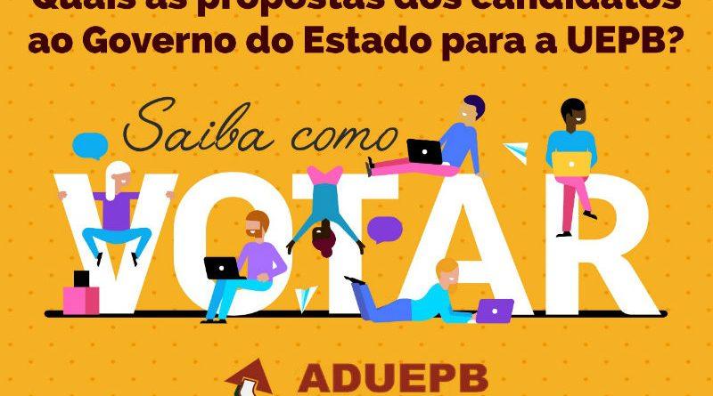 Candidato do PSB não aceita convite da ADUEPB para debate com a comunidade acadêmica da UEPB