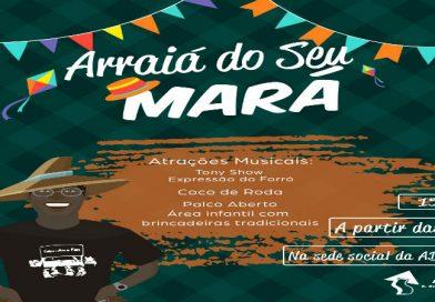 Arraiá do Seu Mará animará São João da ADUEPB, no sábado (15/06)