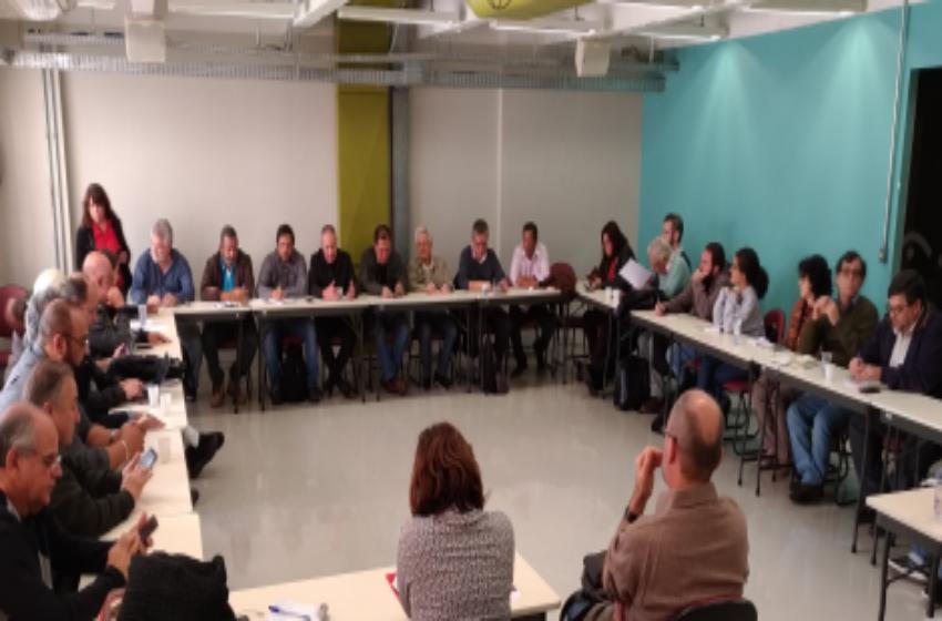 Em reunião das Centrais Sindicais, CSP-Conlutas defende retomar lutas contra Reforma da Previdência