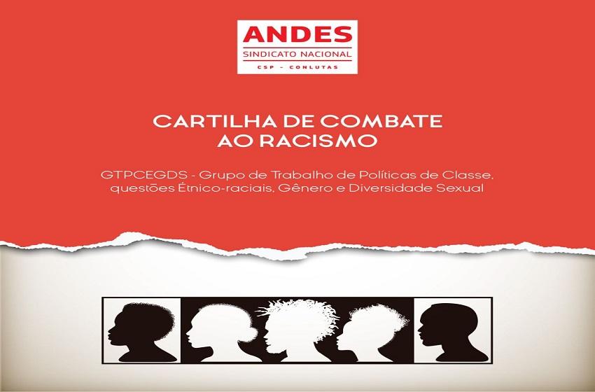 ANDES-SN lança cartilha de combate ao racismo
