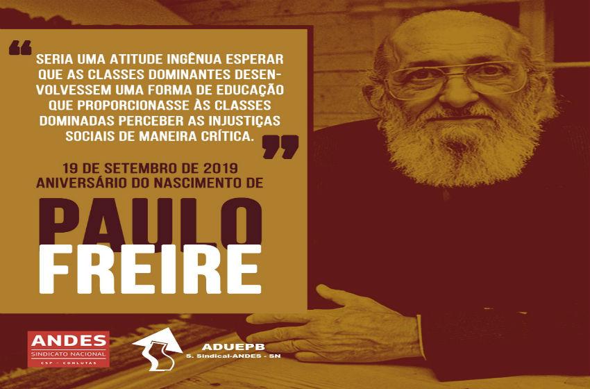 Paulo Freire: 98 anos do patrono da Educação Brasileira