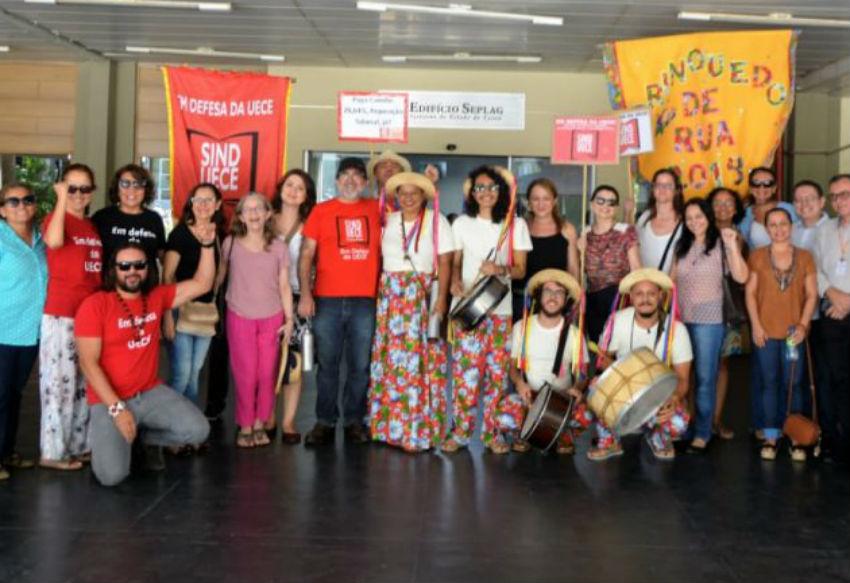 Após ato, docentes do Ceará conquistam reunião com o governo para debater progressões e promoções