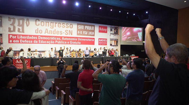 Confira Carta de São Paulo, documento que sintetiza as deliberações do 39º Congresso