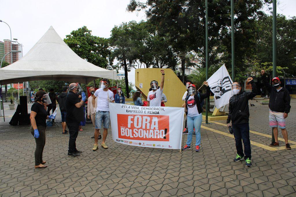 Sindicatos e movimentos sociais promovem segundo ato Fora Bolsonaro/Mourão