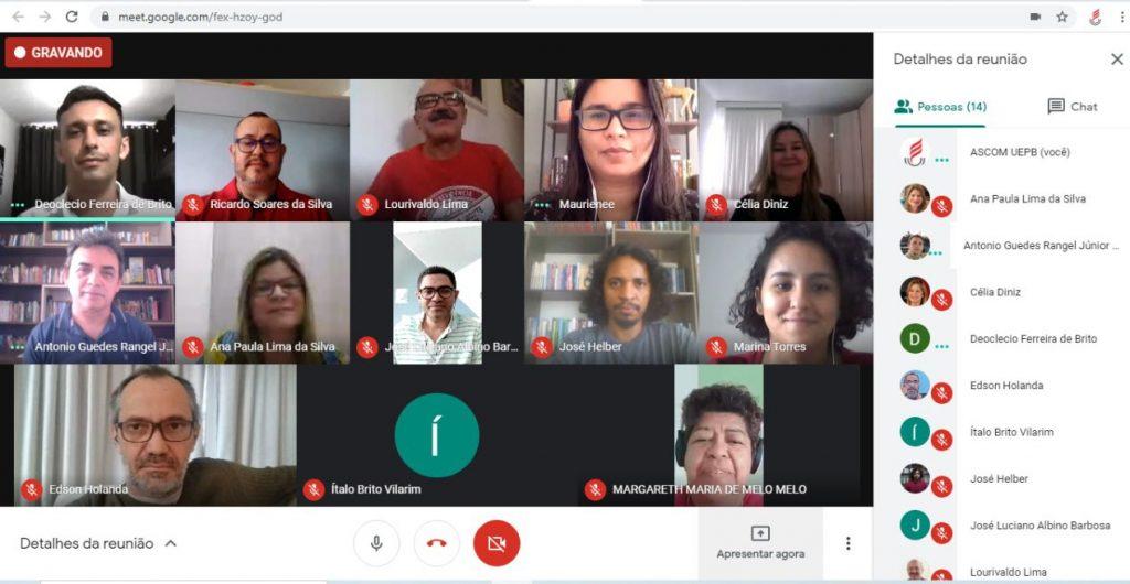 ADUEPB apresenta pauta de reivindicações de condições de trabalho docente à Reitoria