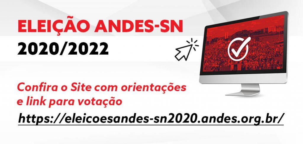 Eleição do ANDES-SN: Confira o site e o procedimento para votação