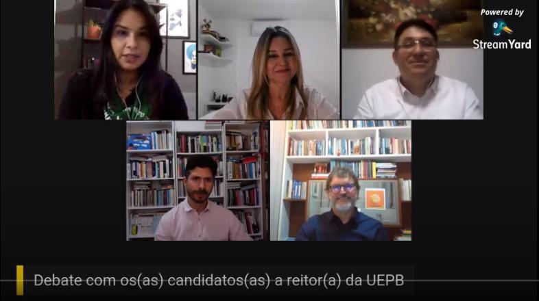 Candidatos(as) a reitor(a) da UEPB participam de debate da ADUEPB e três assinam Carta de Compromisso do Sindicato