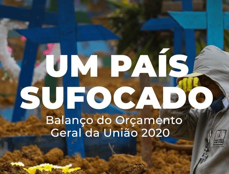 Governo Federal deixou de gastar mais de R$ 80 bi do orçamento destinado ao combate da pandemia, aponta Inesc