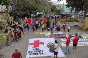 Manifestantes voltam a ocupar ruas pelo impeachment de Bolsonaro