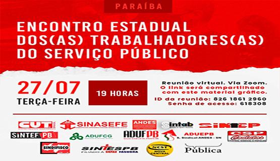 Encontro Estadual dos Servidores Públicos debaterá Reforma Administrativa e mobilização para impedir aprovação