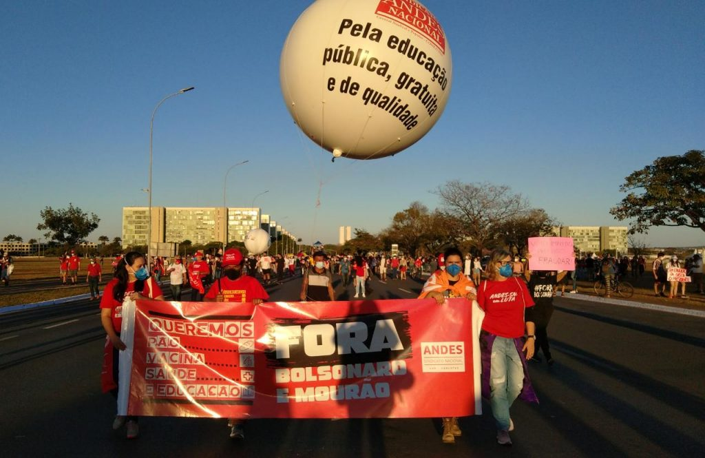 24J: As ruas de todo o país exigem Fora Bolsonaro